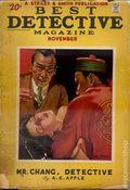 Best Detective Magazine (1929-1937 Street & Smith) Pulp Vol. 11 #1