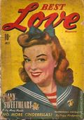 Best Love Magazine (1943 Western Fiction) Pulp 2nd Series Vol. 1 #3