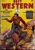 Best Western (1935-1949 Western Fiction/Interstate) Pulp 1st Series Vol. 1 #6