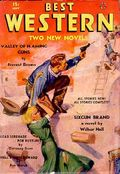 Best Western (1935-1949 Western Fiction/Interstate) Pulp 1st Series Vol. 2 #6