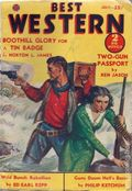 Best Western (1935-1949 Western Fiction/Interstate) Pulp 1st Series Vol. 3 #3
