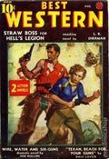 Best Western (1935-1949 Western Fiction/Interstate) Pulp 1st Series Vol. 4 #1