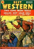 Best Western (1935-1949 Western Fiction/Interstate) 1st Series Vol. 4 #9