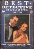 Best Detective Magazine (1929-1937 Street & Smith) Pulp Vol. 6 #6