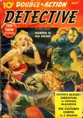 Double-Action Detective (1938-1940 Blue Ribbon Magazines) Pulp Vol. 2 #1