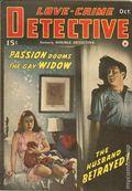 Love-Crime Detective (1942 Frank A. Munsey) Pulp Vol. 1 #3