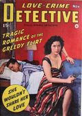 Love-Crime Detective (1942 Frank A. Munsey) Pulp Vol. 1 #4