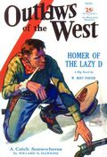 Outlaws of the West (1930-1932 Good Story/ Blue Band) Pulp Vol. 3 #3