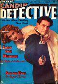 Candid Detective (1938-1939 Trojan Publishing) Pulp Vol. 1 #1