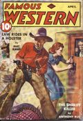 Famous Western (1937-1960 Columbia Publications) Pulp Vol. 4 #1