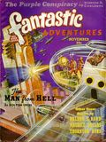 Fantastic Adventures (1939-1953 Ziff-Davis Publishing) Pulp Nov 1939