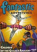 Fantastic Adventures (1939-1953 Ziff-Davis Publishing) Pulp Apr 1943