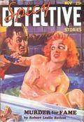 Spicy Detective Stories (1934-1942 Culture Publications) Pulp Vol. 2 #1