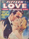 Fifteen Love Stories (1949-1955 Fictioneers) Pulp Vol. 3 #2