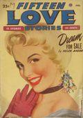 Fifteen Love Stories (1949-1955 Fictioneers) Pulp Vol. 5 #2