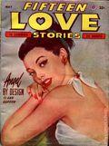 Fifteen Love Stories (1949-1955 Fictioneers) Pulp Vol. 5 #4