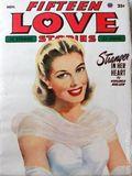 Fifteen Love Stories (1949-1955 Fictioneers) Pulp Vol. 6 #3