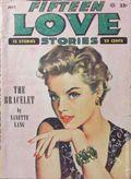 Fifteen Love Stories (1949-1955 Fictioneers) Pulp Vol. 9 #1