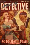 Spicy Detective Stories (1934-1942 Culture Publications) Pulp Vol. 13 #2