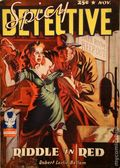 Spicy Detective Stories (1934-1942 Culture Publications) Pulp Vol. 18 #1