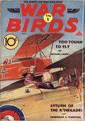 War Birds (1928-1937 Dell) Pulp Vol. 21 #62