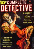 Complete Detective (1938-1939 Western Fiction Publishing) Pulp Vol. 1 #1