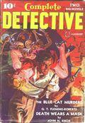 Complete Detective (1938-1939 Western Fiction Publishing) Pulp Vol. 1 #2