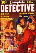 Complete Detective (1938-1939 Western Fiction Publishing) Pulp Vol. 1 #3
