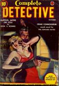 Complete Detective (1938-1939 Western Fiction Publishing) Pulp Vol. 1 #6