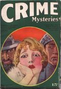 Crime Mysteries (1927 Dell Publishing) Pulp Vol. 1 #1