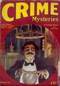 Crime Mysteries (1927 Dell Publishing) Pulp Vol. 1 #6