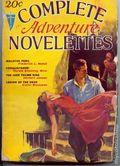 Complete Adventure Novelettes (1932-1933 Clayton Magazines) Pulp Vol. 2 #1