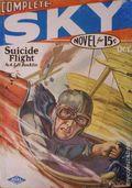 Complete Sky Novel (1930-1931 Real Publications) Pulp Vol. 1 #1