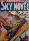 Complete Sky Novel (1930-1931 Real Publications) Pulp Vol. 1 #2