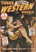 Three Western Novels Magazine (1948-1950 Atlas) Pulp Vol. 1 #8