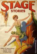 Stage Stories (1929 Dell Publishing) Pulp Vol. 1 #1