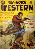 Top-Notch Western (1938-1939 Western Fiction) Pulp Vol. 2 #1