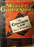 World's Greatest Stories (1929 Macfadden) Pulp Vol. 1 #1