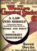 World's Greatest Stories (1929 Macfadden) Pulp Vol. 1 #5