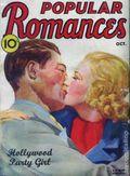Popular Romances (1938-1939 Standard) Pulp Vol. 3 #1