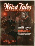 Weird Tales (1923-1954 Popular Fiction) Pulp 1st Series Vol. 3 #4