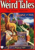 Weird Tales (1923-1954 Popular Fiction) Pulp 1st Series Vol. 13 #3