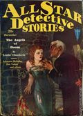 All Star Detective Stories (1929-1932 Clayton) Pulp Vol. 13 #1
