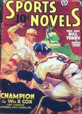 Sports Novels Magazine (1937-1952 Popular Publications) Pulp Vol. 2 #4