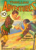 Thrilling Adventures (1931-1943 Standard) Pulp Vol. 2 #1