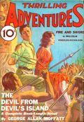 Thrilling Adventures (1931-1943 Standard) Pulp Vol. 3 #1