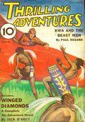 Thrilling Adventures (1931-1943 Standard) Pulp Vol. 5 #1