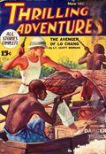 Thrilling Adventures (1931-1943 Standard) Pulp Vol. 7 #2