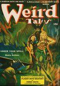 Weird Tales (1923-1954 Popular Fiction) Pulp 1st Series Vol. 36 #10