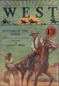 West (1926-1953 Doubleday) Pulp Vol. 1 #6